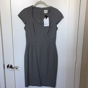 Reiss Sheath Gray Work Dress Size US 6